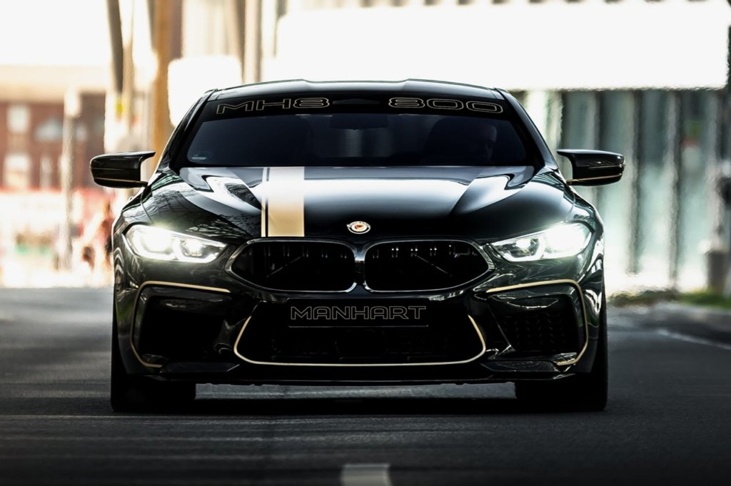Marnhart MH8 800 - BMW M8 Competition mit 823 PS - 2