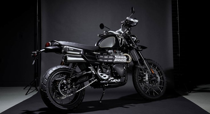 Triumph Scrambler 1200 James Bond 007 Edition