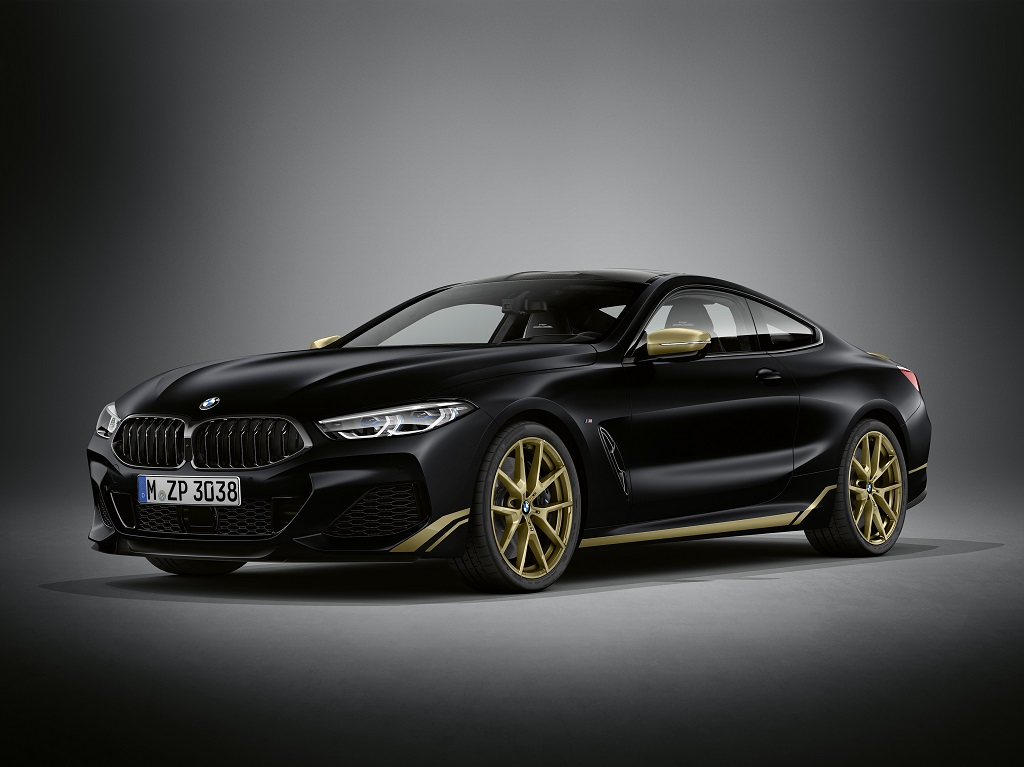BMW stellt 8er Edition Golden Thunder vor