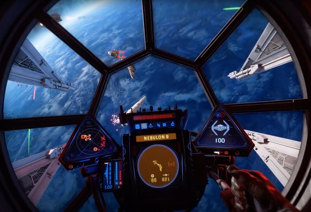 EA Star Wars: Squadrons - Gameplay zeigt Starfighter-Action