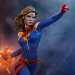Captain Marvel Statue von Sideshow Collectibles
