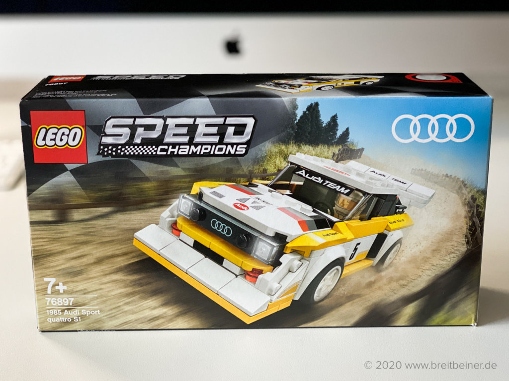 LEGO Speed Champions 76897 Audi Sport quattro S1 im Review