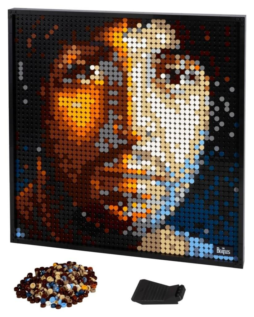 LEGO ART - Pop-Art-Poster mit Iron Man, Darth Vader, Beatles und Marilyn Monroe 5