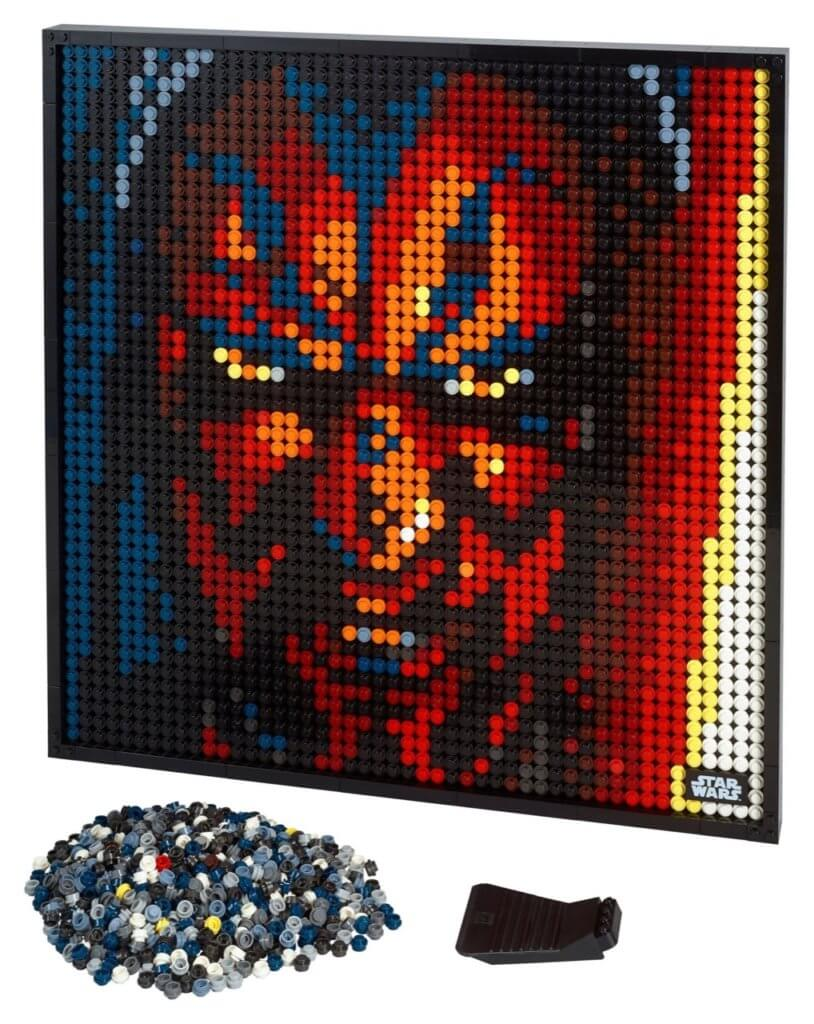 LEGO ART - Pop-Art-Poster mit Iron Man, Darth Vader, Beatles und Marilyn Monroe 2