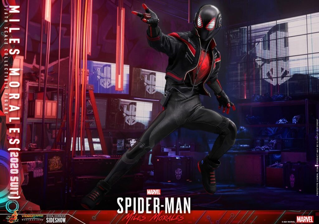 Hot Toys Miles Morales 2020 Suit Spider-Man Figur